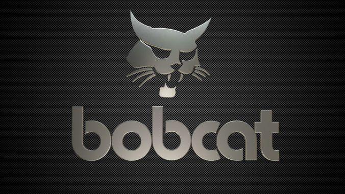 bobcat logo | 3D model