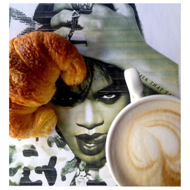 Breakfast with Riri my gurrrrrrrrl ;-))))