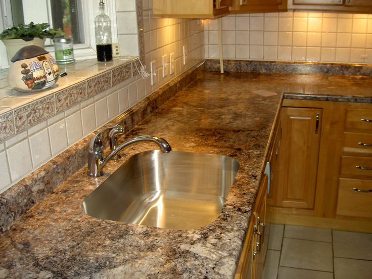 Pros And Cons Of Laminate Countertops: The Strengths Of Laminate Are Its Low Cost, Durability, photo - 6