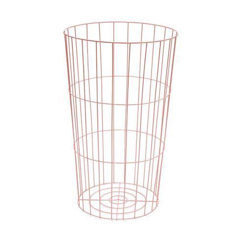 Wire Storage Hamper - Pink