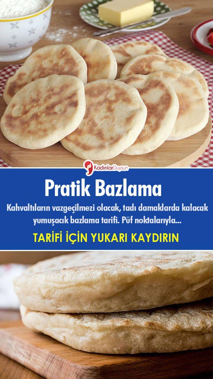 Pratik Bazlama   Food, Breakfast, Bread