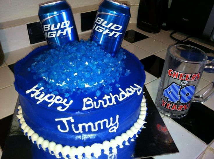 25 Best Images About Busch Light Cakes On Pinterest