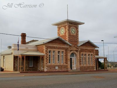 The little town of  Menzies is about an hour's drive from Kalgoorlie. Here is the Council Offices that waited a 100 years to have a clock in the clock tower. Check out Jill Harrison's blog for some history and more of her photos. There is lots of history surrounding the goldfields area.