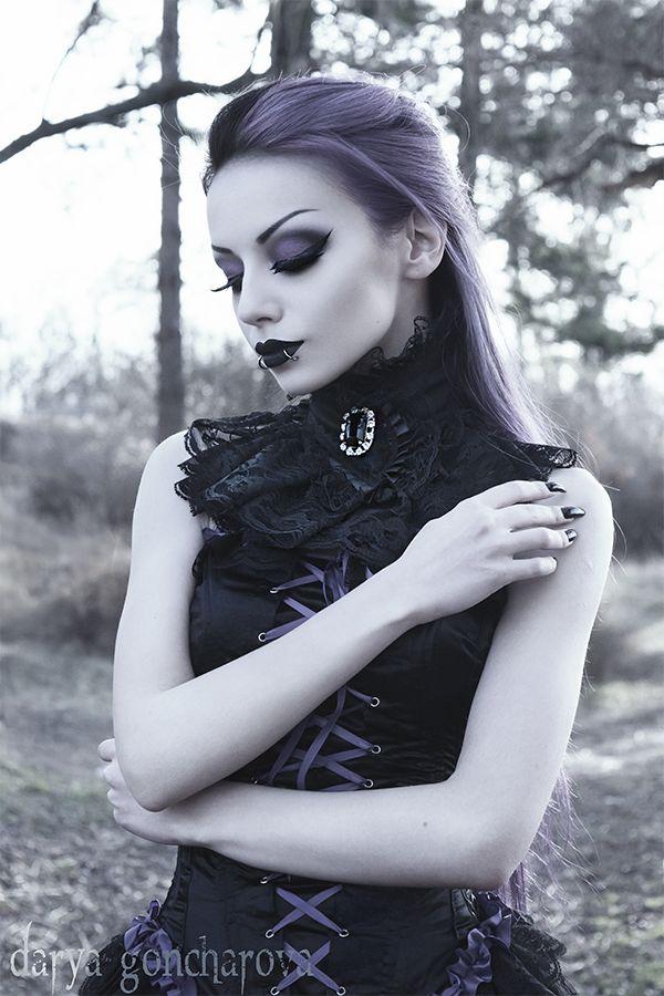 Model/ MUA/Photo: Darya Goncharova Collar: GoldenSteampunk Clothing Dress: Phazeclothing.com Welcome to Gothic and Amazing |www.gothicandamazing.com