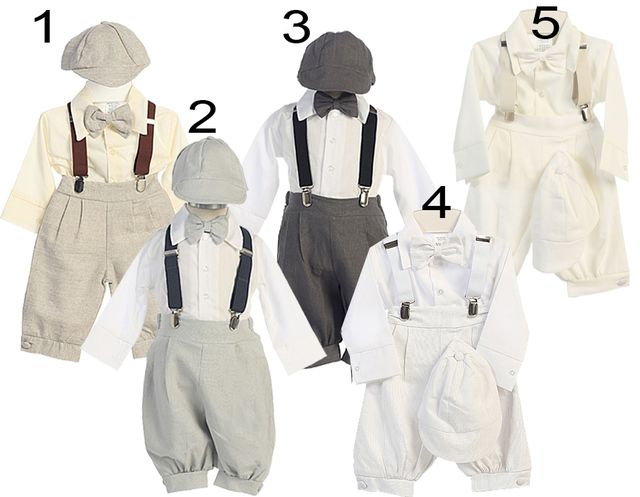 baby boy baptism outfit with suspenders - Google Search
