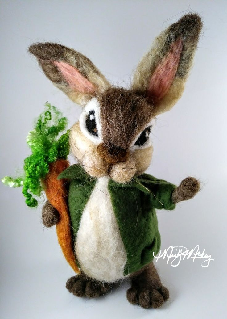 Needle Felted Bunny perfect for an Easter