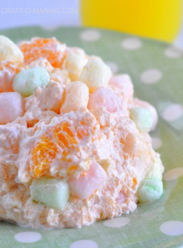 """Unique Take on Fluffy Easter Salad RECIPE - Homesteading - The Homestead Survival .Com """"Please Share This Pin"""""""