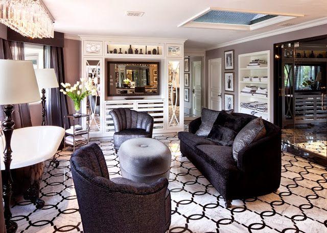 Kris Jenner Interior Designer | Blanco Interiores: Em casa de Kris Jenner...Inside Kris Jenner Home!
