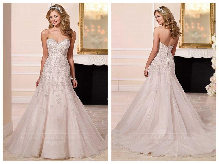 Simply Sweetheart A-line Wedding Dress