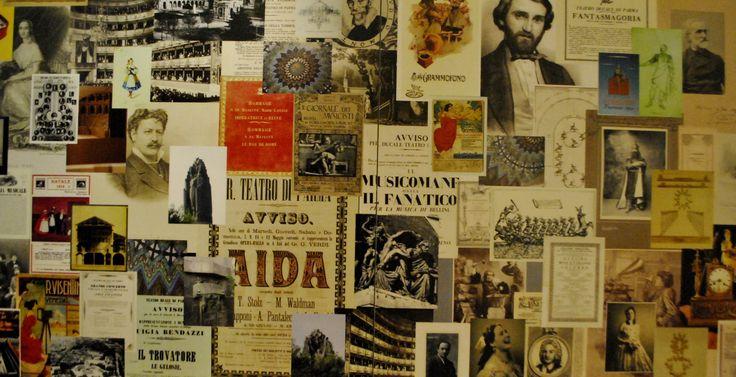 Locandine storiche alla casa della Musica