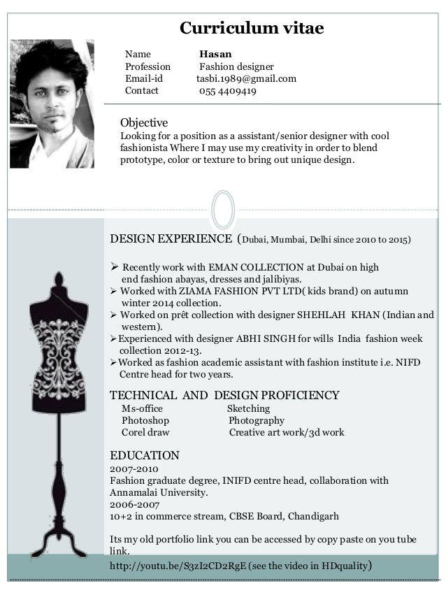 creative fashion cv google search