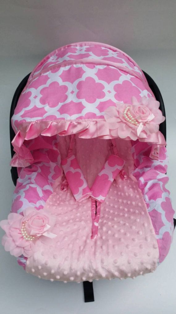 Baby Car Seat Cover Canopy Infant Car Seat Cover by BabyIsland $39