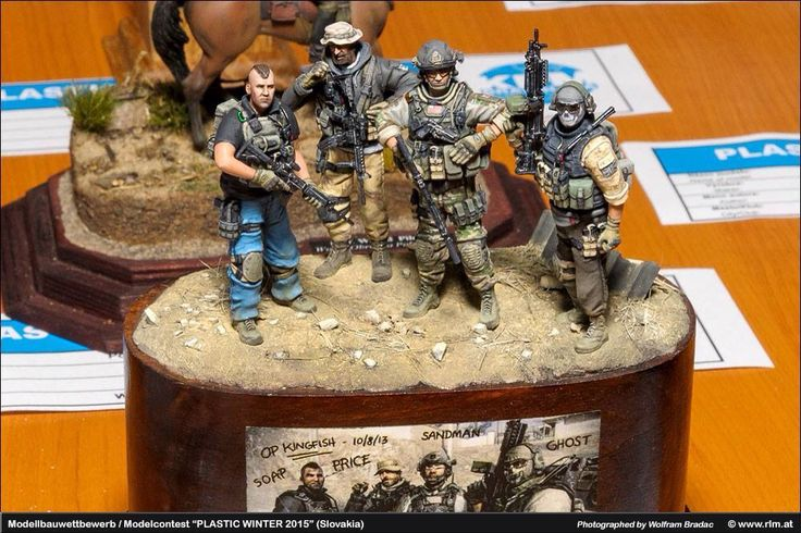 Call of Duty Diorama