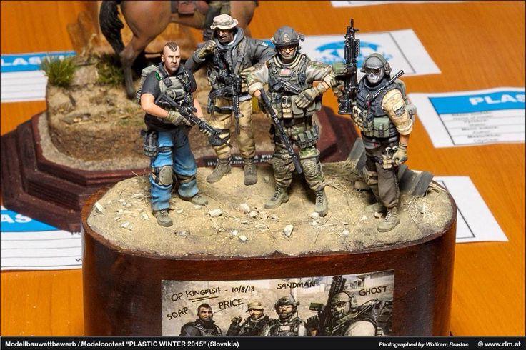 Call of Duty Diorama