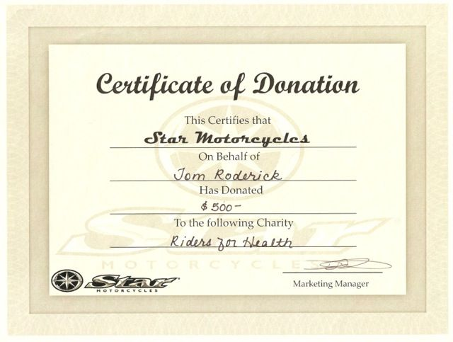 10 Donation Certificate Templates Free Printable Word