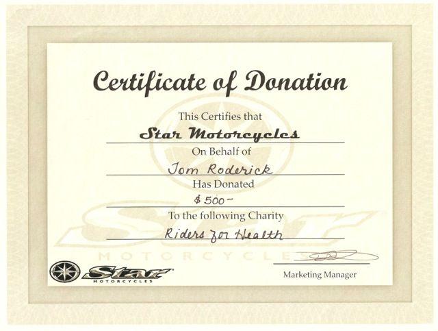 10 Donation Certificate Templates Certificate Templates