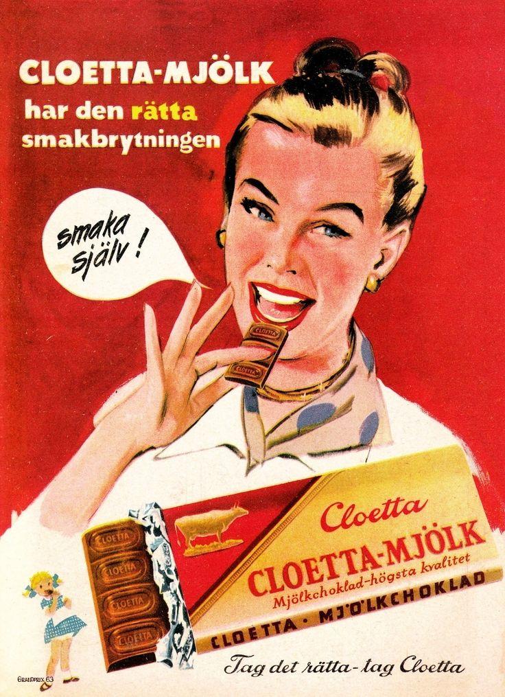 Cloetta Mjölkchoklad.