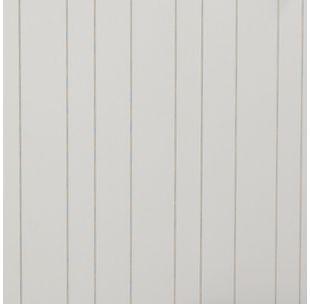 Veggplate Trefiber Cottage Wall Sawcut Hvit 11x620x2390
