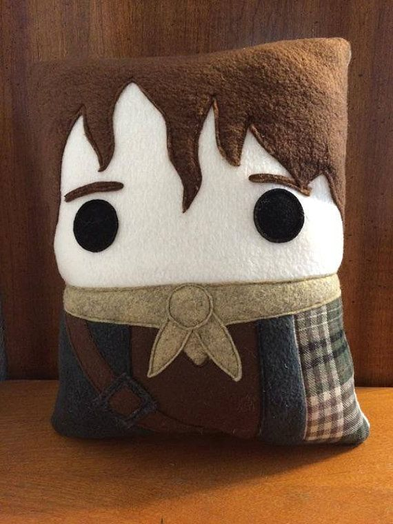 Get a little closer to Jamie with this adorable pillow.