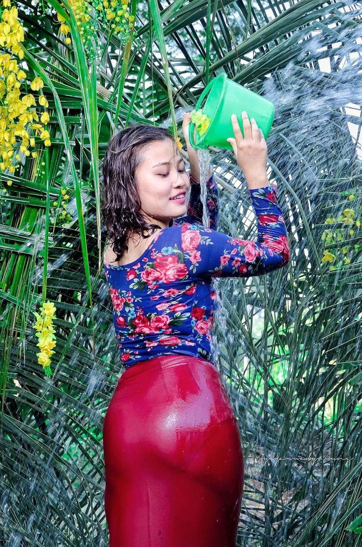 Pin on Burmese Model Girls