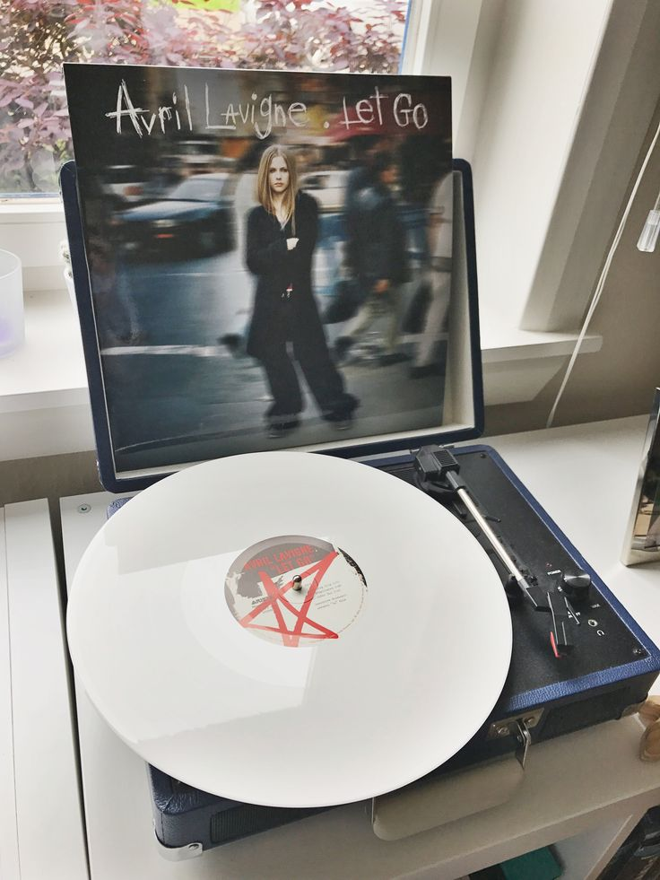 Let Go by Avril Lavigne on white vinyl. Limited to 3,000 copies. GOT IT.