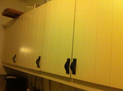 Lædergreb i køkkenet! DIY!