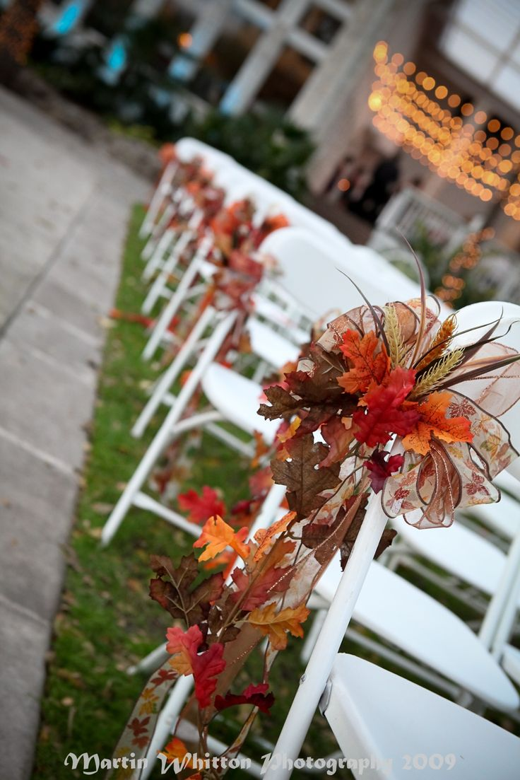 Fall wedding decorations diy   best Nonexistant Cliche Pinterest Wedding images on Pinterest