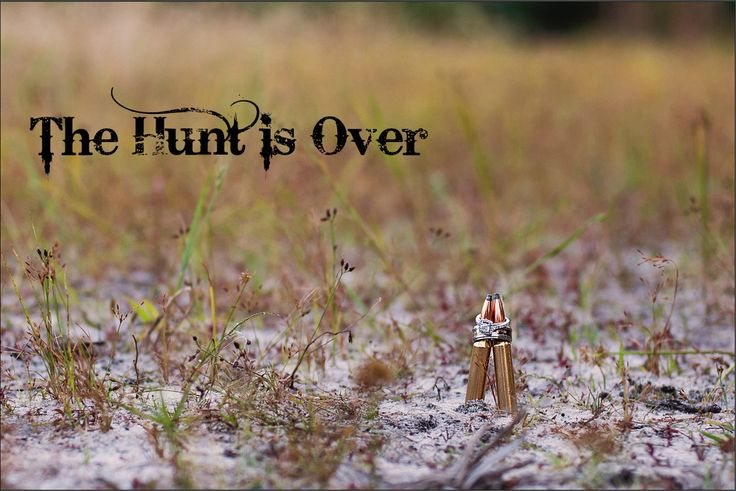 The Hunt is Over. Country Engagement Shoot