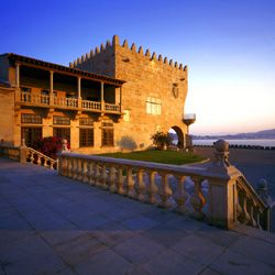 Parador de Baiona, Baiona, Spain. I stayed here for 2 nights...best 2 nights EVER. I lived in a fortress!