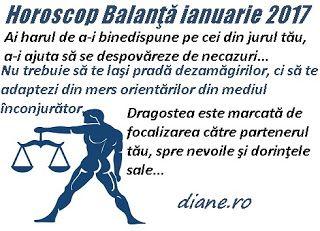 diane.ro: Horoscop Balanţă ianuarie 2017
