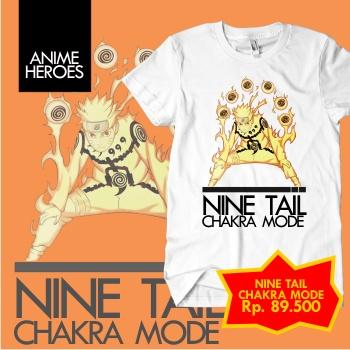 Kaos Naruto - Nine Tail Chakra Mode