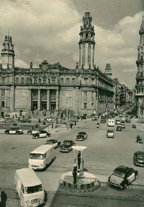 Via Laietana/Correos. 1960 Barcelona