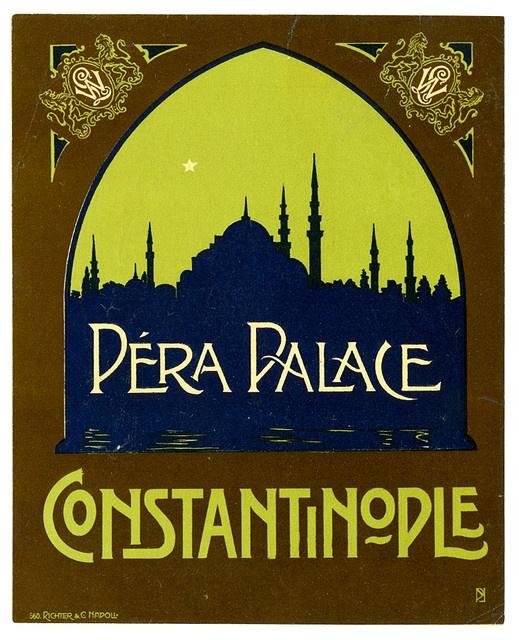 illustration de tourisme : Péra palce, Constantinople
