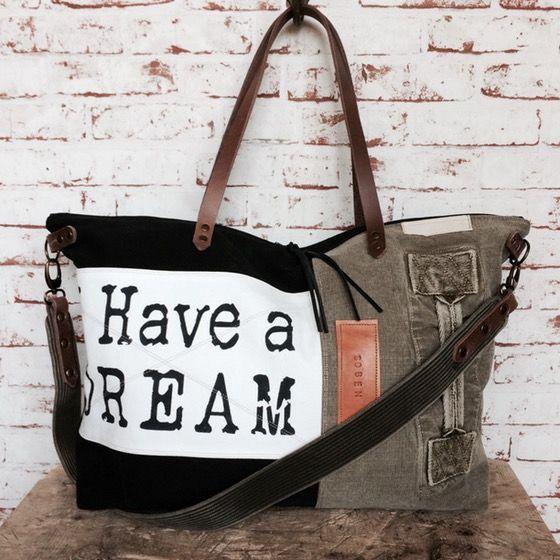 "Image of Week-end bag ""I Have a dream"""