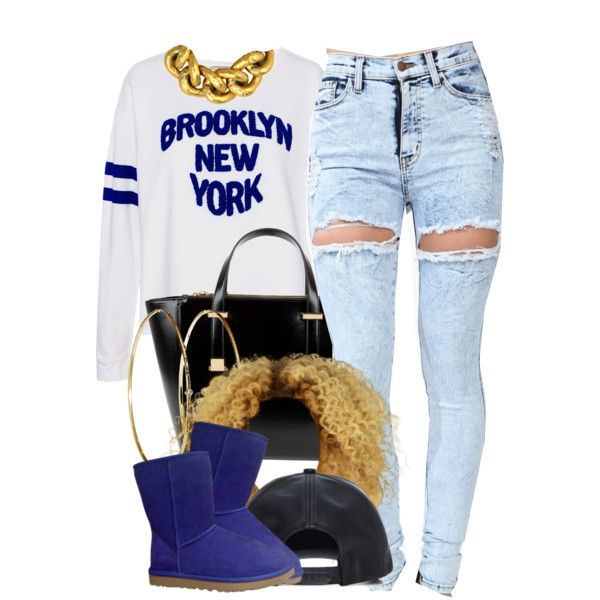 A fashion look from December 2014 featuring white tops, high-waisted jeans and ankle boots. Browse and shop related looks.