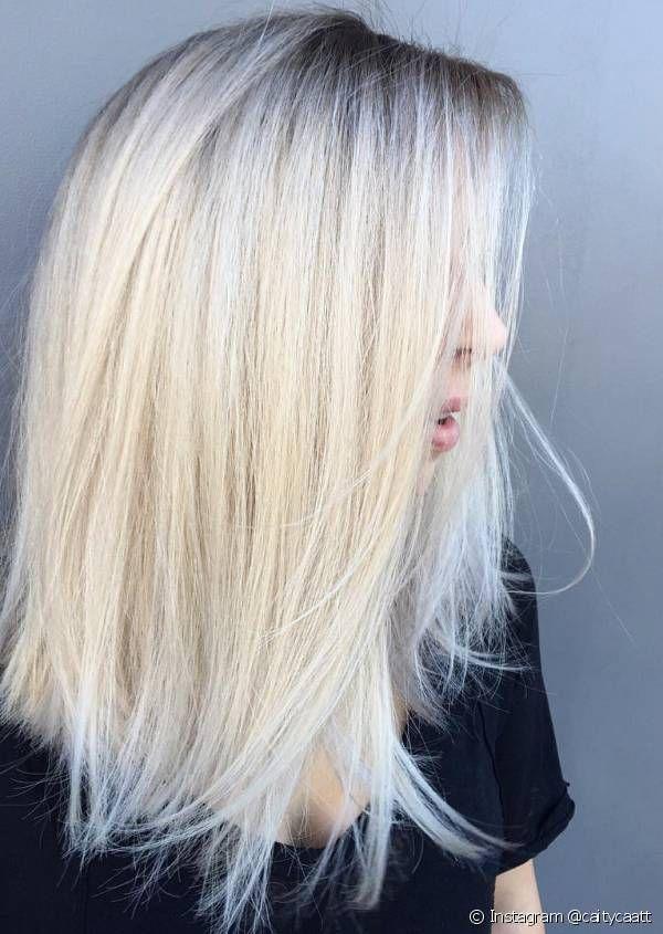 Le lob blond polaire lisse https//www.instagram.com/p