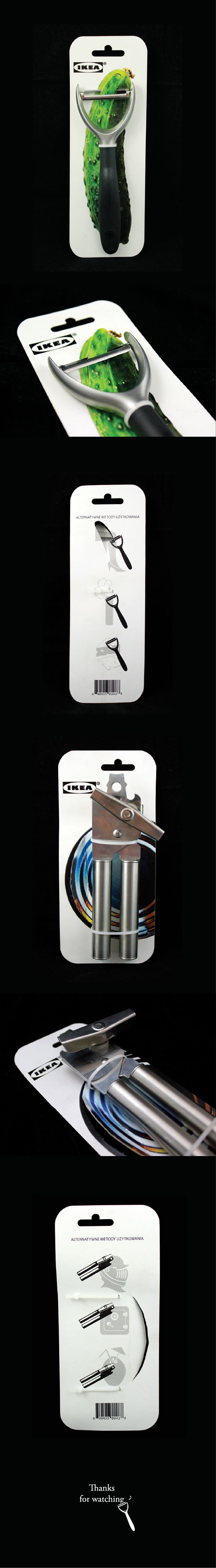 IKEA kitchen tool packages CONCEPT on Behance