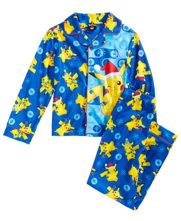 Pokemon 2-Pc. Pikachu Pajama Set, Little Boys (4-7) & Big Boys (8-20)