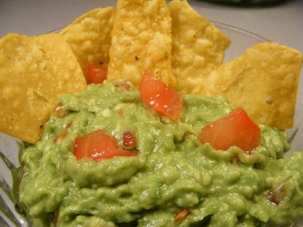 On the Border guacamole.  I have used this recipe many times and it is good.  I put it all in a food processor and make it smooth.