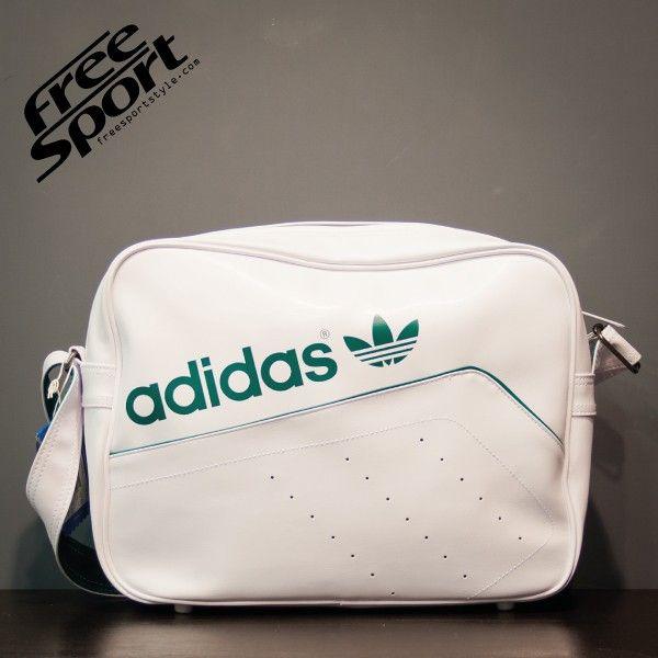 Borsa Tracolla Adidas Pelle Bianca Verde M30586 http://freesportstyle.com/adidas/595-borsa-tracolla-adidas-pelle-bianca-verde-m30586.html