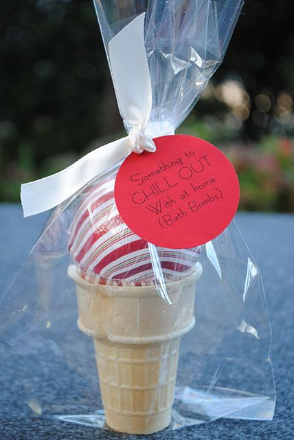 Cute packaging for bath bombs