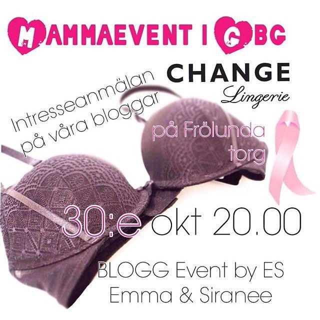 Tipsar om ett annat bloggevent som vi också är med på ett litet hörn arrangerat av #esevent #reinsta @thaimorsan.nu @pasmallen.nu #bloggevent #blogg #change #frölunda #tävling #vinst #cupcake