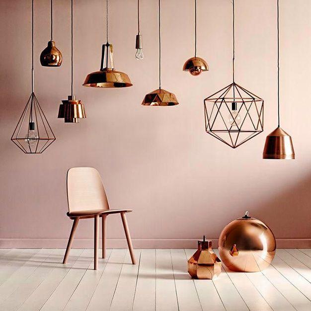 Deco : 20 idees d accessoires cuivres vues sur Pinterest minimalisme