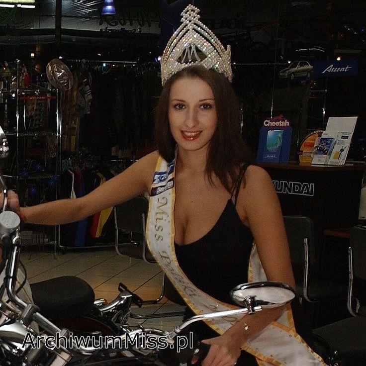 Ewa Wiertel #MissPolski 2001 #misspoland #winner #crown