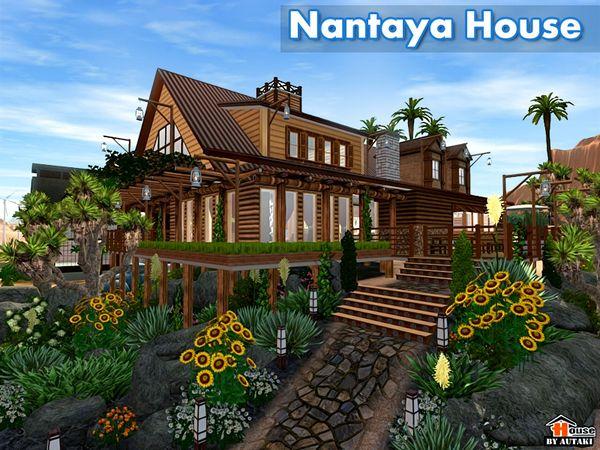 Nantaya Houseby Autaki - Sims 3 Downloads CC Caboodle