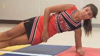 Abs Workout: Cheerleading Exercises How To for Six Pack Abs, via YouTube.