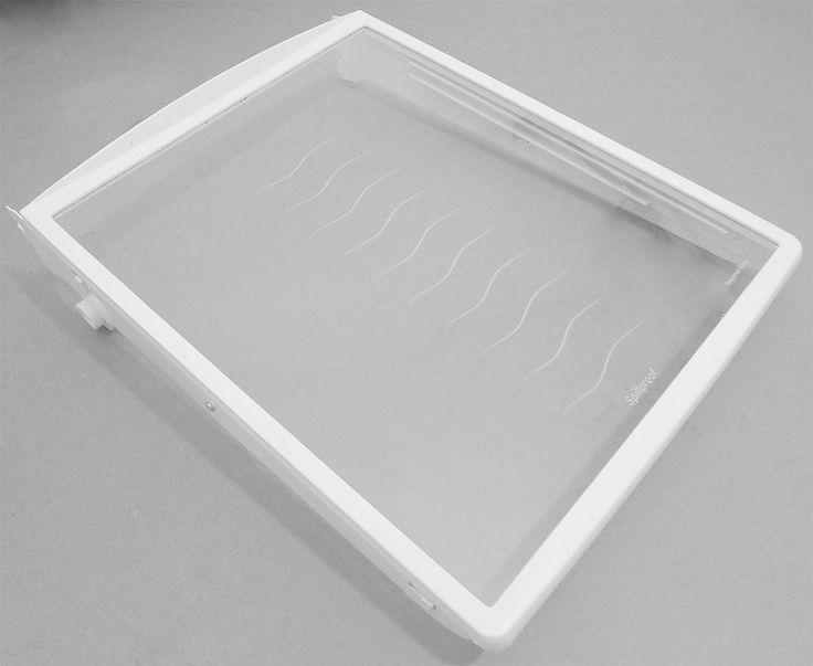 240355216 Frigidaire Refrigerator Glass Meat Drawer Shelf