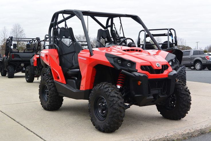 New 2017 Can-Am Commander 800R ATVs For Sale in North Carolina. 2017 Can-Am Commander 800R, TO GOOD TO PASS UP!<br /> <br /> 2017 Can-Am® Commander 800R BEST-IN-CLASS POWER AND VERSATILITY. <p>This versatile side-by-side features the essentials that changed the off-road landscape. Industry-leading performance, precision-engineered handling, and rider-focused design are all on display every time you hit the throttle.</p> Features may include: <ul><li>ROTAX V-TWIN ENGINE</li></ul> ULTIMATE…