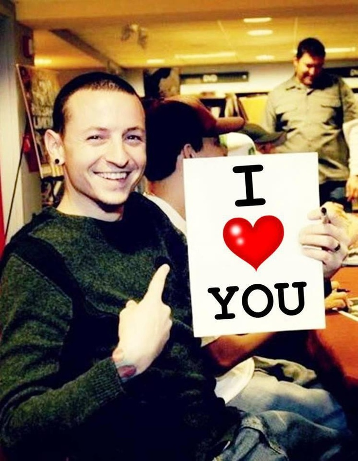 CHESTER BENNINGTON Aaaaaw u found my sign! I love U so much honey U have no idea...