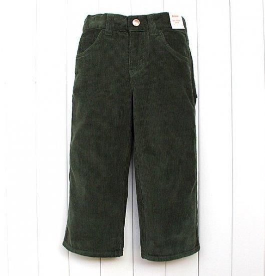 Оливковые вельветовые брюки купить
